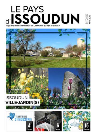 Couverture magazine Issoudun - Mai 2019 N°240