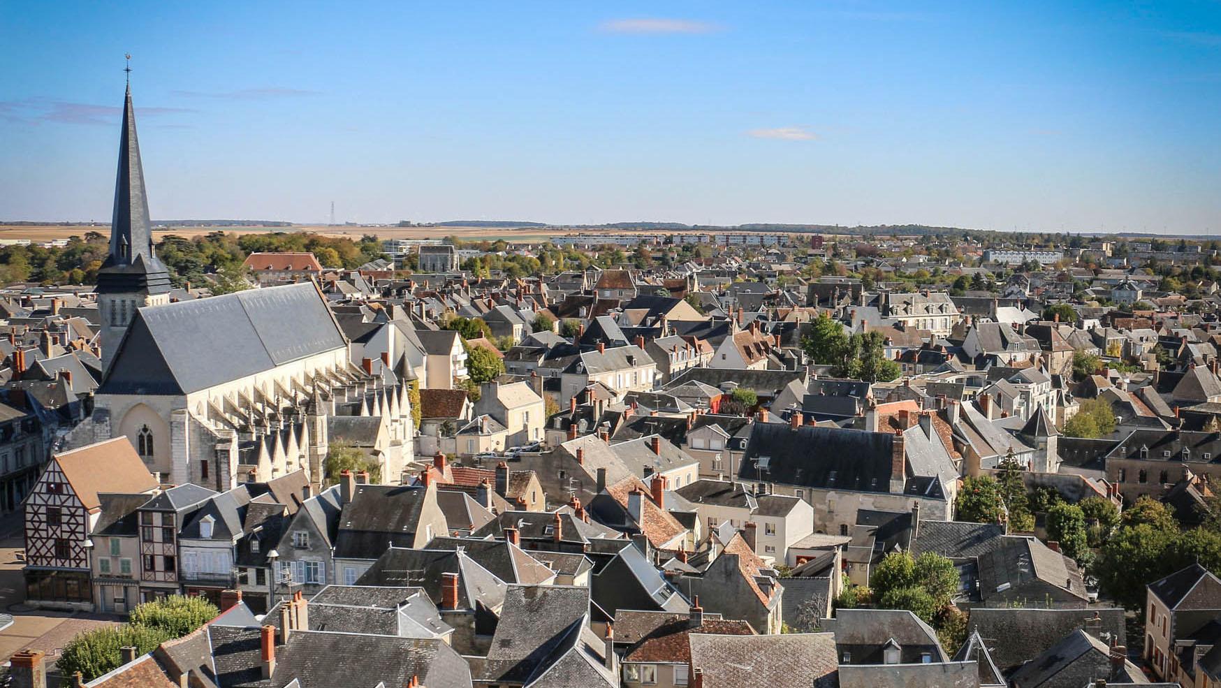 centre villecentre ville vue depuis la Tour Blanche