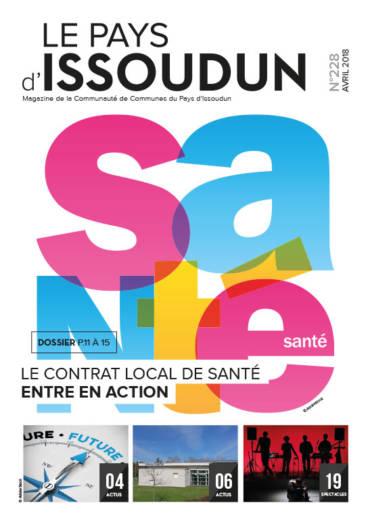 Couverture Magazine Le Pays d'Issoudun - Avril 2018 N°228
