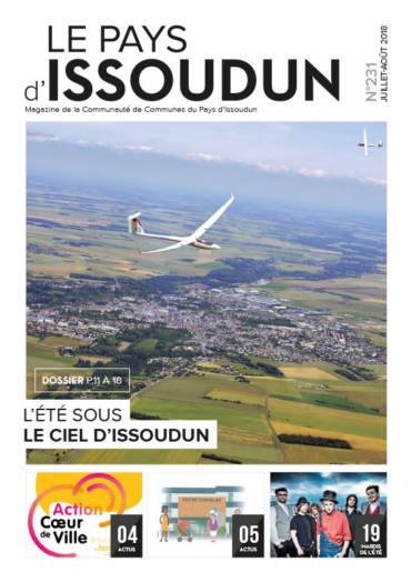 Couverture Magazine Le Pays d'Issoudun - Juil-août 2018 N°231