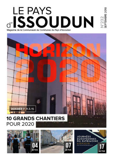 Couverture Magazine Le Pays d'Issoudun - Septembre 2018 N°232