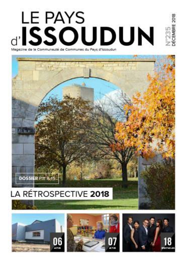 Couverture Magazine Le Pays d'Issoudun - Décembre 2018