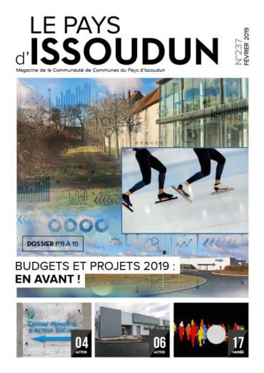 Couverture Magazine Le Pays d'Issoudun - Février 2019 N°237