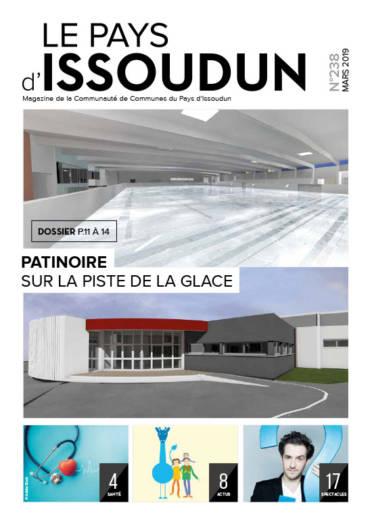 Couverture Magazine Le Pays d'Issoudun - Mars 2019 N°238