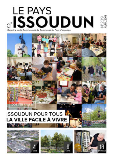 Couverture Magazine Le Pays d'Issoudun - Avril 2019 N°239