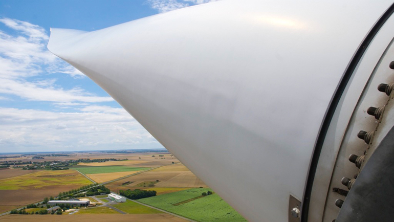 Pale d'éolienne