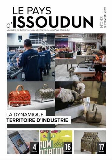 Couverture Magazine Le Pays d'Issoudun N°243 - Sept 2019