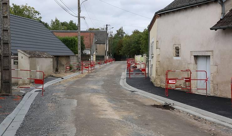 Travaux rue de la Chapelle du Pont